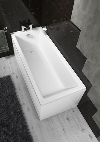 Pool Straight Single End Square Bath