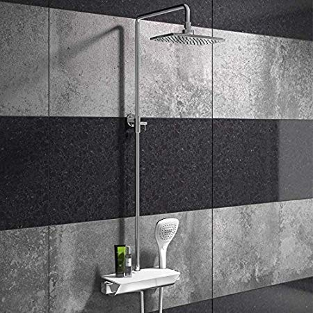 Garda Drencher Shower - Shelf Bar Valve