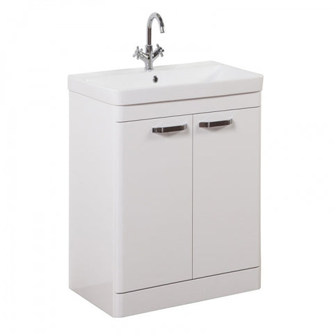 Options White Floorstanding Basin Unit (3 Sizes)