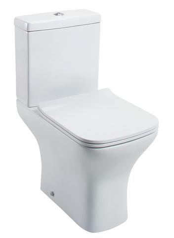 Fair Close Coupled Toilet with Slimline Seat