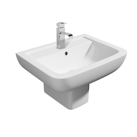 Options 600 Semi-Basin & Pedestal