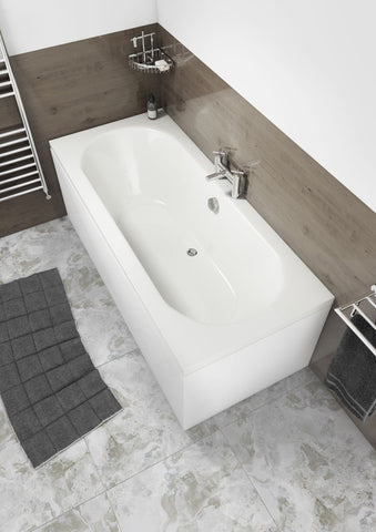 Hilton Straight Double Ended Round Bath