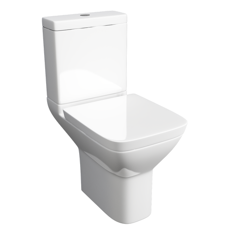 Project Square Close Coupled Toilet