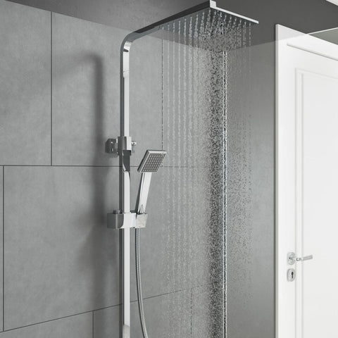 Marilia Square Drencher Shower
