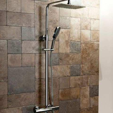 Oval Drencher Shower