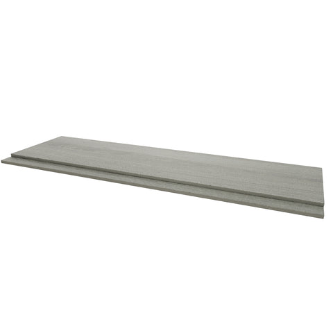 Purity Grey Ash 2 Piece Bath Panel
