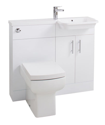 Ria Right Hand W/C & Basin Combi Unit