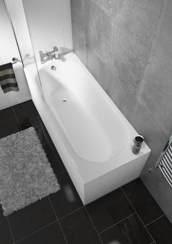 Delph Straight Single End Round Bath
