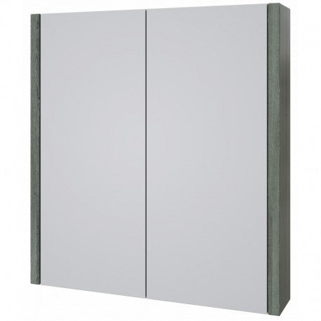 Purity Grey Ash Mirror Cabinet (3 Sizes)
