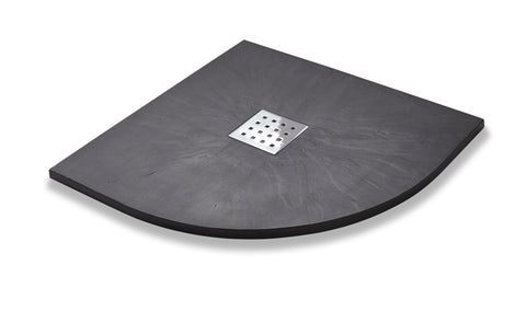 Slate Effect Quadrant Graphite Trays