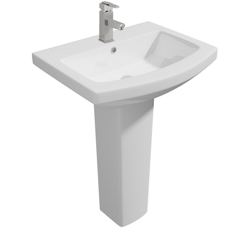 Trim Basin & Pedestal