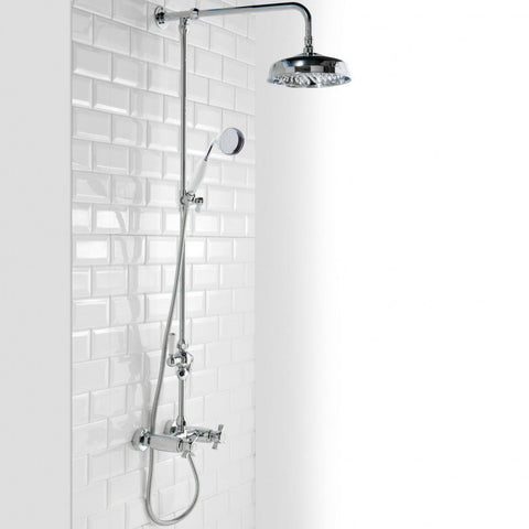 Damson Traditional Drencher Shower