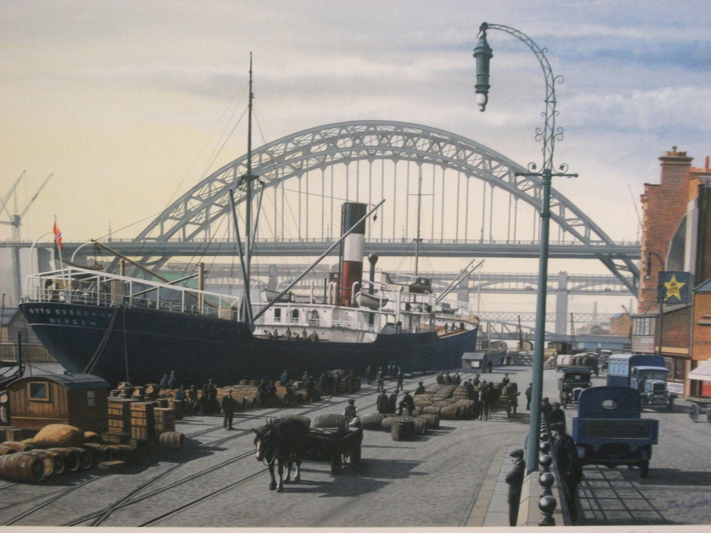 Newcastle Quayside -