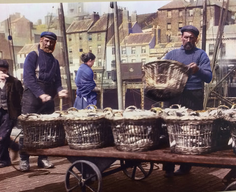 Fishermen North Shields Fish Quay image no 13