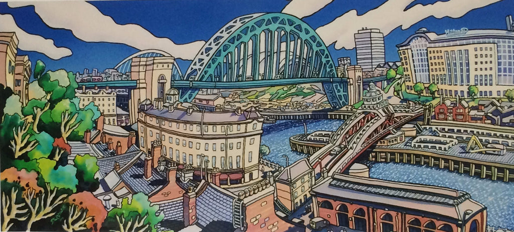 River Tyne from Newcastle -