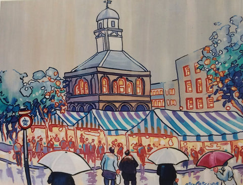 Market Day South Shields. -