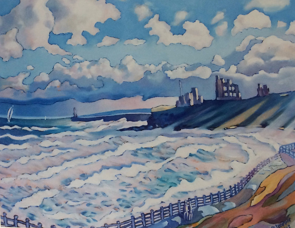 Waves at Tynemouth -