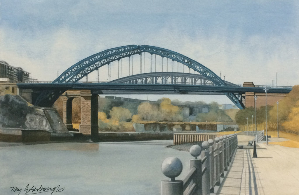 Wearmouth Bridge. -