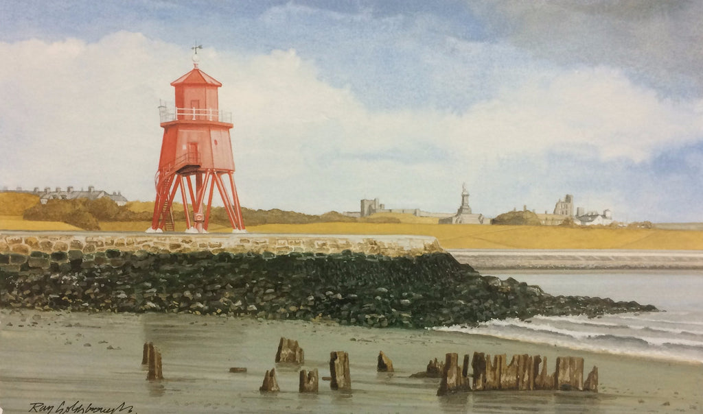 Constance Ellen at the Groyne