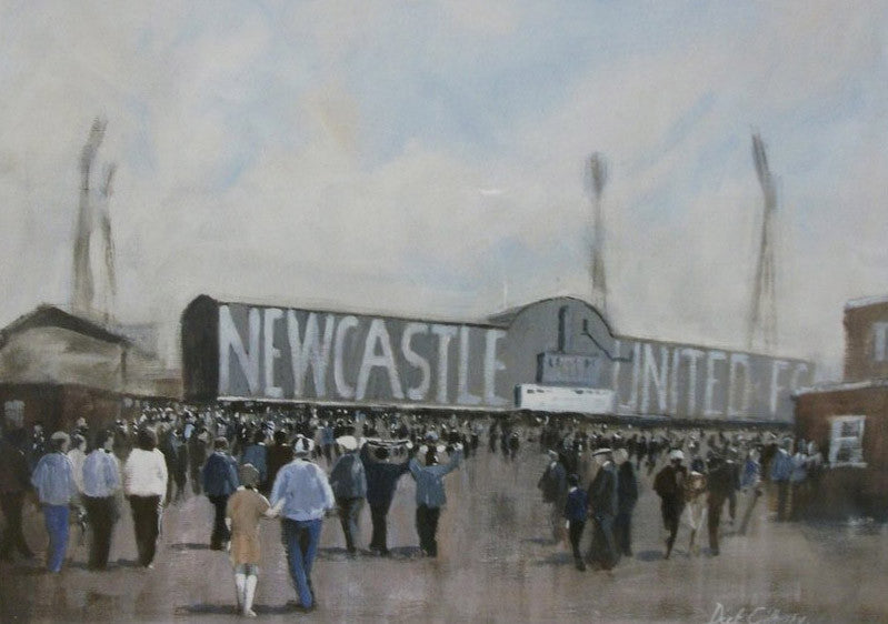 Old Ground NUFC. -