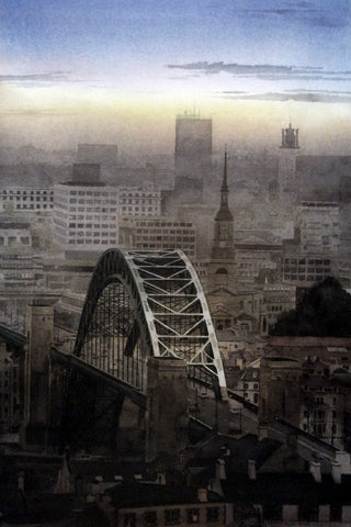 Tyne Bridge. -