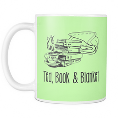 Mug - Tea, Book, Blanket