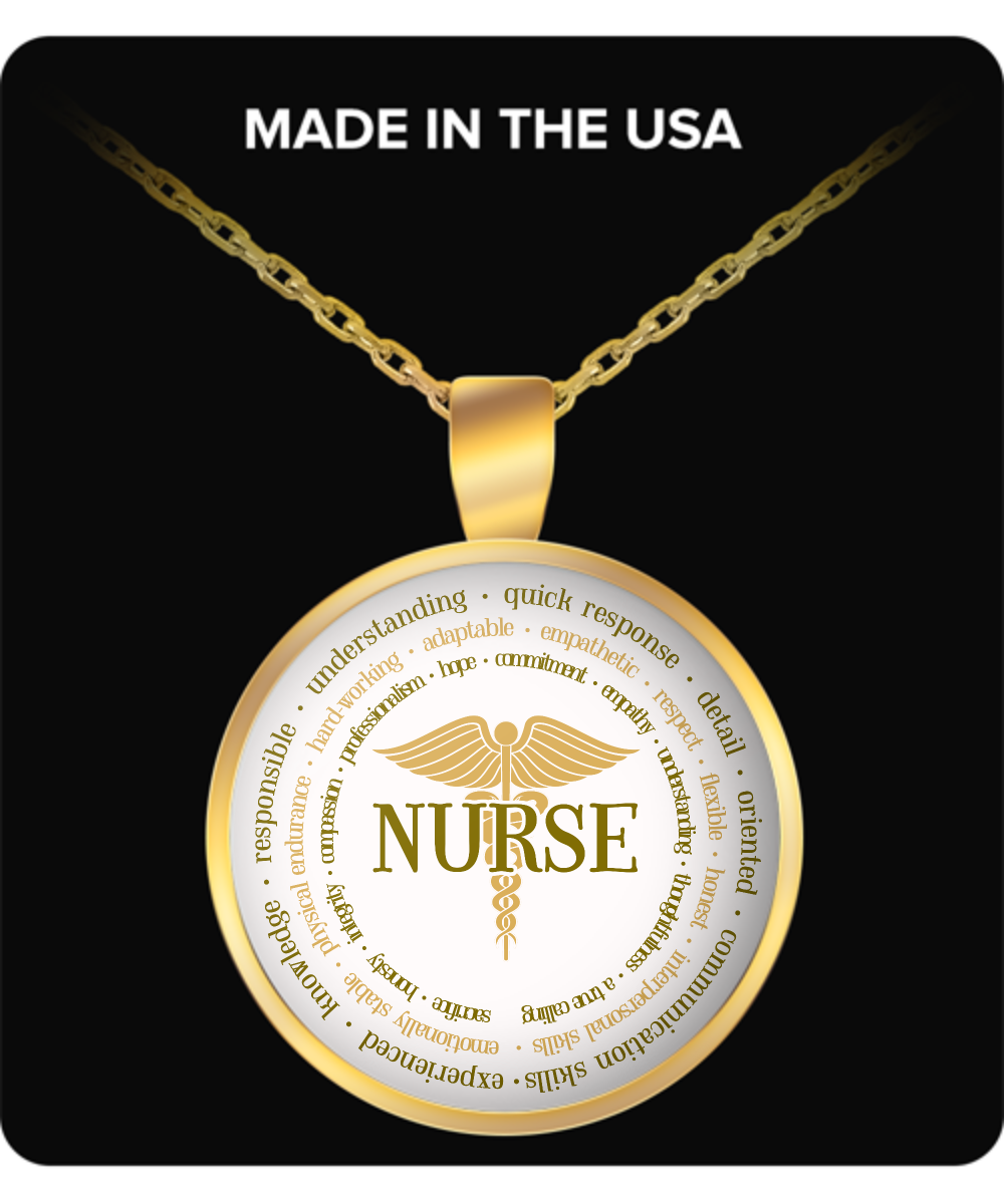 Pendant - Nurse Gold