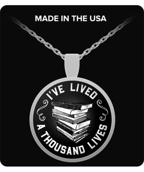 Pendant - I've Lived 1000 Lives