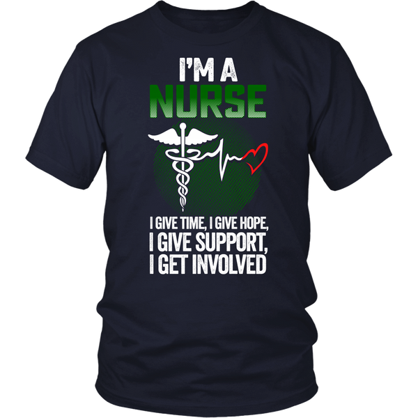 I'm A Nurse - Green Version