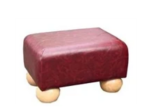 Faux Leather Footstools