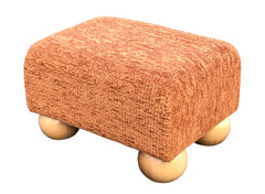 chamoix copper small footstool