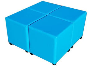 Four Phoenician Faux Leather Cubes For The Price Of Three