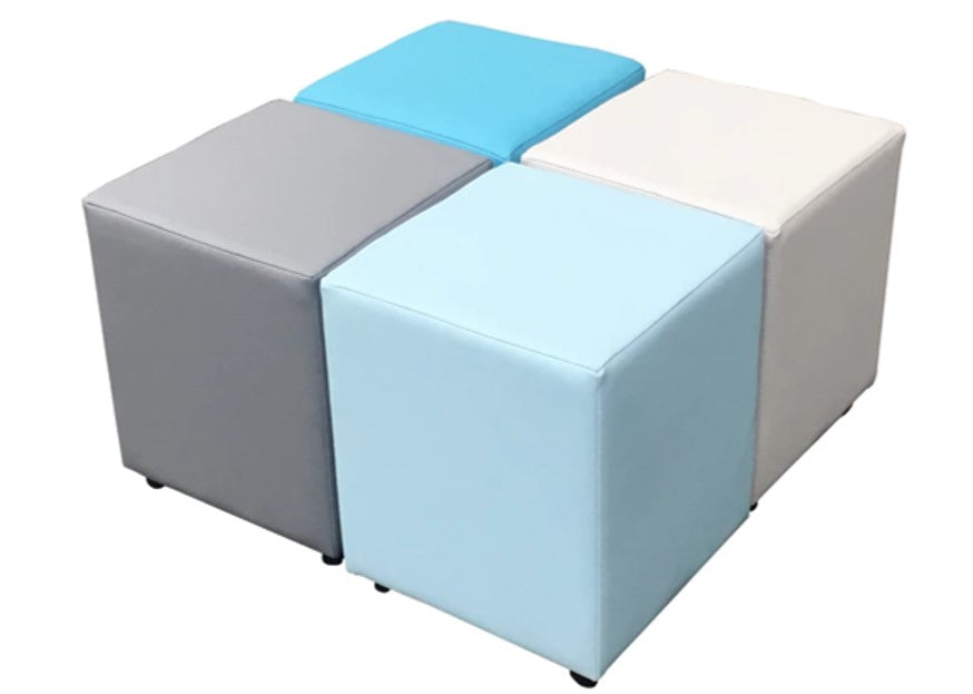 Cube Seating Ocean Collection - Footstools Direct