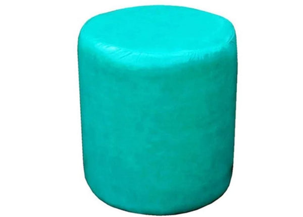 Drum Stool Seating in Luxury Turk Faux Leather - Footstools Direct