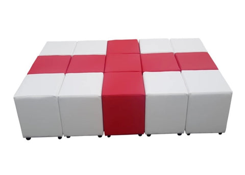 Cube Seating England Collection - Footstools Direct