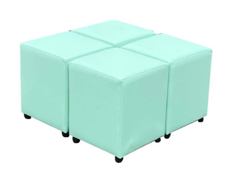 Four Mint Julep Faux Leather Cubes For The Price Of Three
