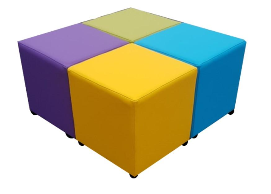 Cube Seating Tulip Collection - Footstools Direct