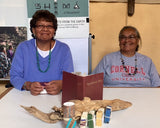 Annette Sam and Judy Begay - soap wrappers!