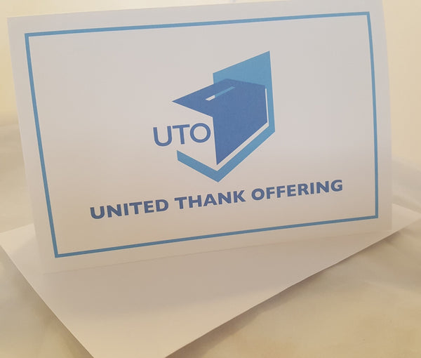 UTO Thank you Cards with Envelopes