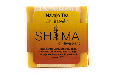 Soft and Sweet Navajo Tea with Lemon