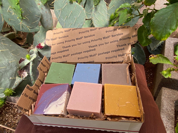 Navajoland Flea Market - Six Beautiful Soaps