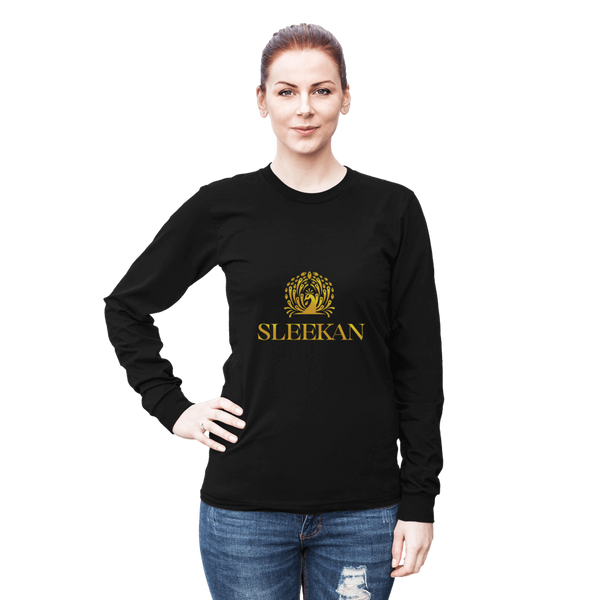 "Womens Luxury ""Morre"" Long Sleeve T-Shirt - Sleekan"