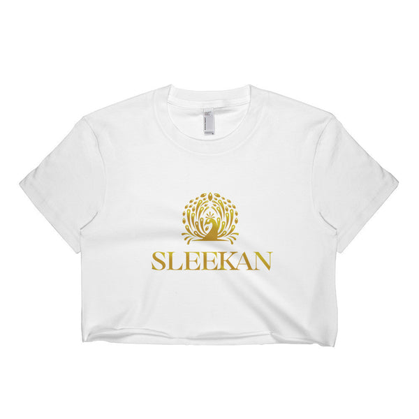 "Luxury Short sleeve ""Morre"" crop top - Sleekan"