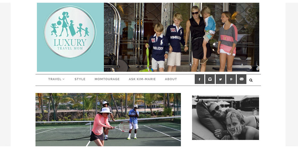 Spoiled Sports Spotted On Luxury Travel Mom!