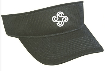 Womens Logo Visor (Navy)