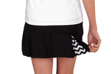 "Womens ""Ace"" Tennis Skirt (Black)"