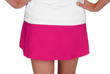 "Womens ""Deuce"" Tennis Skirt (Fuchsia)"