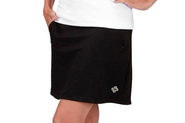 "Womens ""Fairway"" Golf Skirt (Black)"