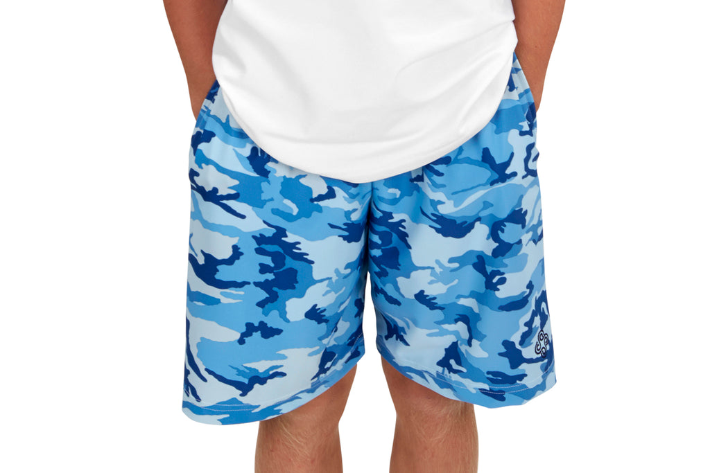 "Boys ""Advantage"" Tennis Shorts (Camo - More Colors Available)"