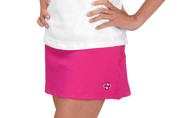"Womens ""Ace"" Tennis Skirt (Fucshia)"
